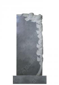 Мраморный памятник (с розами) 110х45