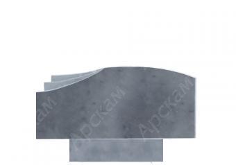 Мраморный памятник (2505) 45х100