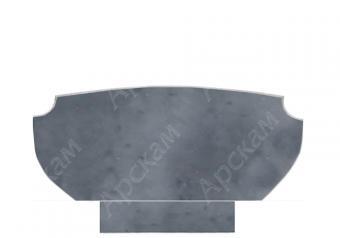 Мраморный памятник (2604) 50х120