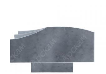 Мраморный памятник (2605) 50х120