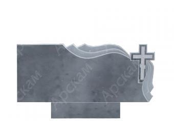 Мраморный памятник (2606) 50х120